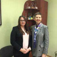 Зустріч з Оленою Задорожною у КГСМ №1