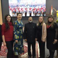 Урочистий прийом посольства Республіки Індія