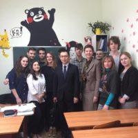 Зустріч із першим секретарем Посольства Японії в Україні