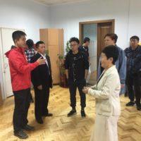 Візит Міжнародного телевізійного каналу КНР «ССTV-4»