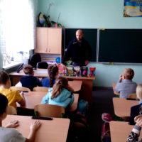 Сашко Дерманський завітав до учнів 3-Г класу