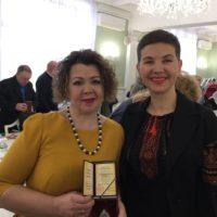 Нагородження Ушакової Тетяни Сергіївни в КМДА