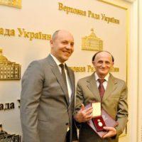 Вітаємо Савченка Михайла Пилиповича з присвоєнням щорічної Премії Верховної Ради України