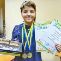 10-річна Марія Манько – чемпіонка Києва з класичних шахів серед 14-річних та 16-річних дівчат