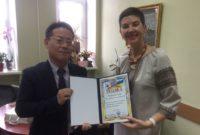 Зустріч з директором корейського освітнього центру