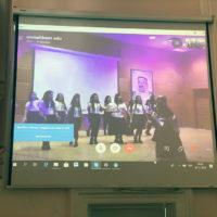 7 листопада, у стінах нашої гімназії відбувся перший в Україні телеміст, який з'єднав наш освітній заклад і школу Держави Кувейт «Умм Кульсум» (м.Кувейт)