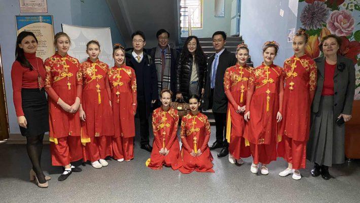 Прийом делегації викладачів з Шанхаю
