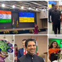 Урочистий прийом їз нагоди 71-ого Дня Республіки Індія