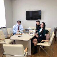 Ділова зустріч із радником Посла з питань освіти