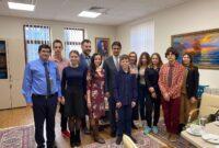 Зустріч із старшокласниками у посольстві Туреччини