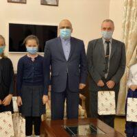Зустріч дітей і вчителя з Послом Ірану