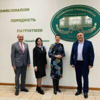 Робоча зустріч у Дипломатичній академії при МЗС України