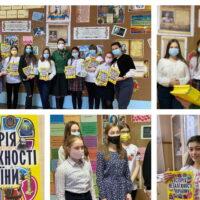 Нагородження учасників флешмобу до ювілею Лесі Українки