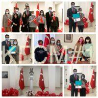 Вітання учасникам конкурсу, присвяченому Дню дітей у Туреччині