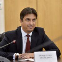 Привітання Надзвичайному й Повноважному Послу Турецької Республіки в Україні з нагоди вручення премії «Посол року»