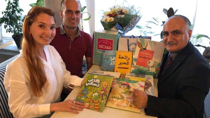 Зустріч дипломатів Посольства України з учителем арабської мови