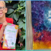 Наш юний художник, Малиновський Микита переміг у Всеукраїнському конкурсі малюнка — «Я дитина! Я малюю!»
