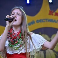 Виступ Заєць Карини на святкуванні 30-річчя Незалежності України