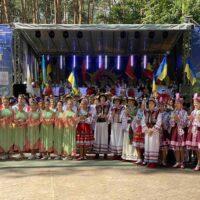 КГСМ №1 взяла участь у святкових заходах до Дня Незалежності, організованих у парку «Совки»